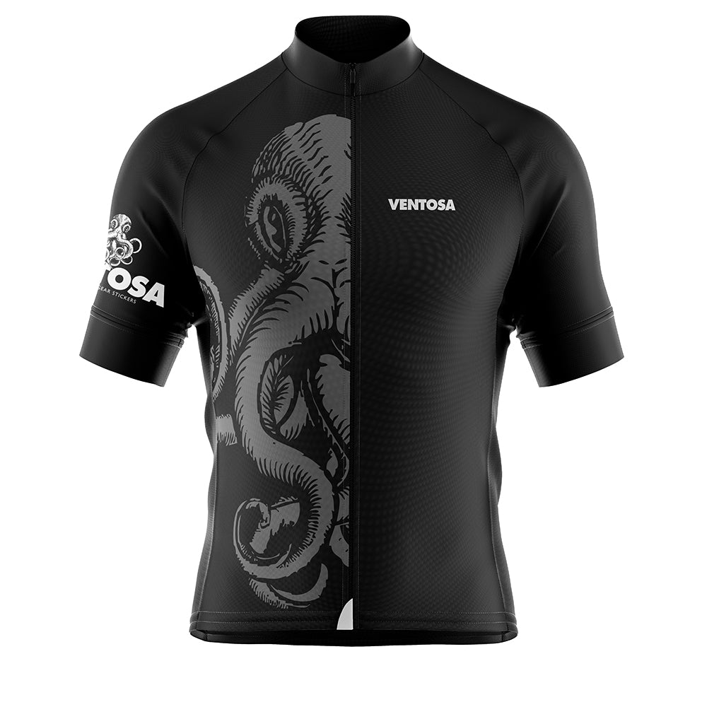 Black Octo Cycling Jersey