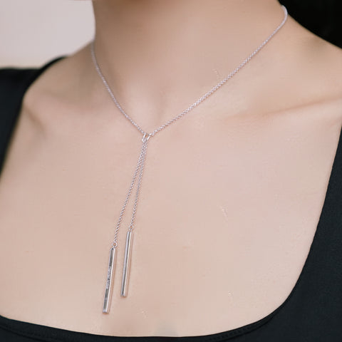 WIN OR LEARN, NEVER LOSE 925 SILVER NECKLACE