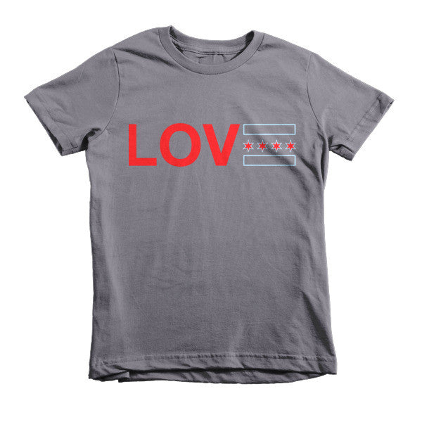 Love Chicago - Kids' T-Shirt