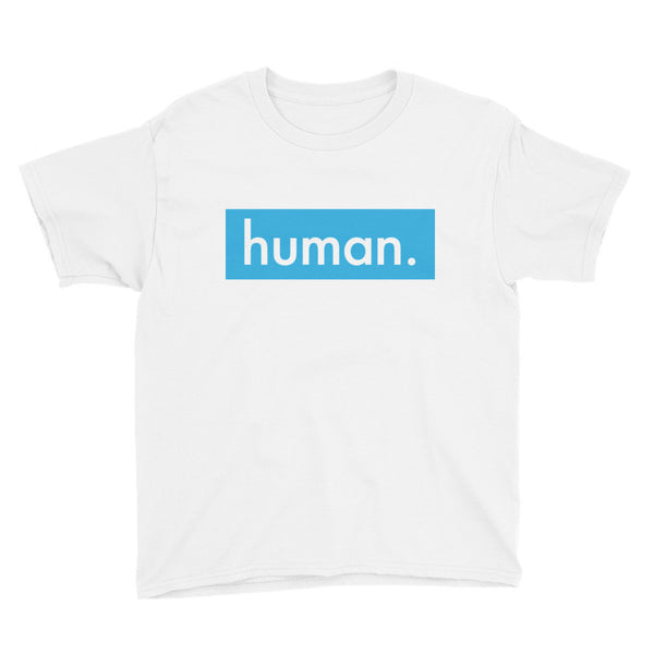 Young human. - Kids' T-Shirt