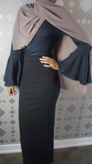 Maxi Tube Skirts - Noir