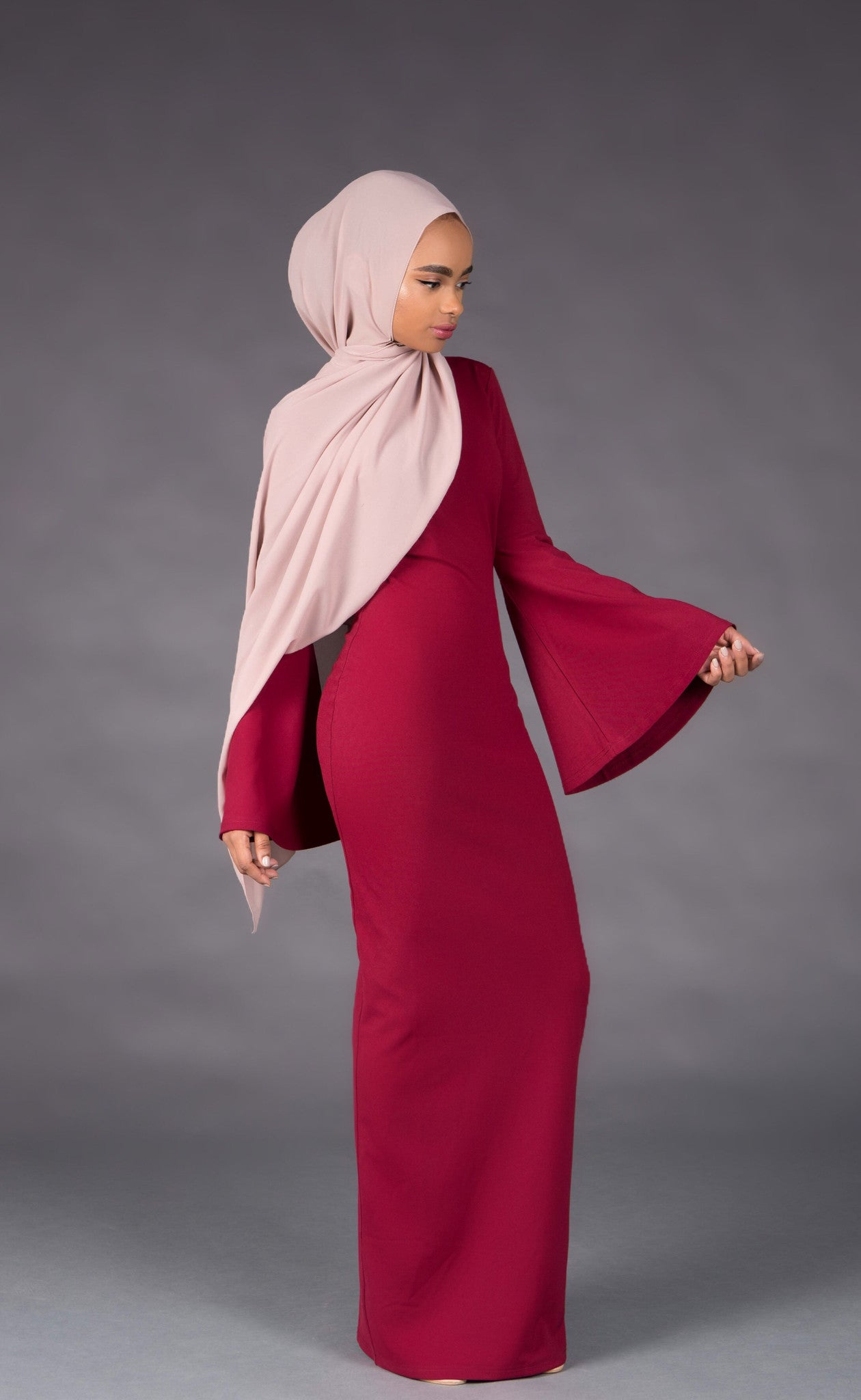 Ruby Red Maxi Dress