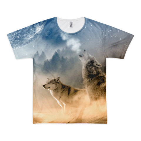 Wolves Short sleeve men's t-shirt (unisex)