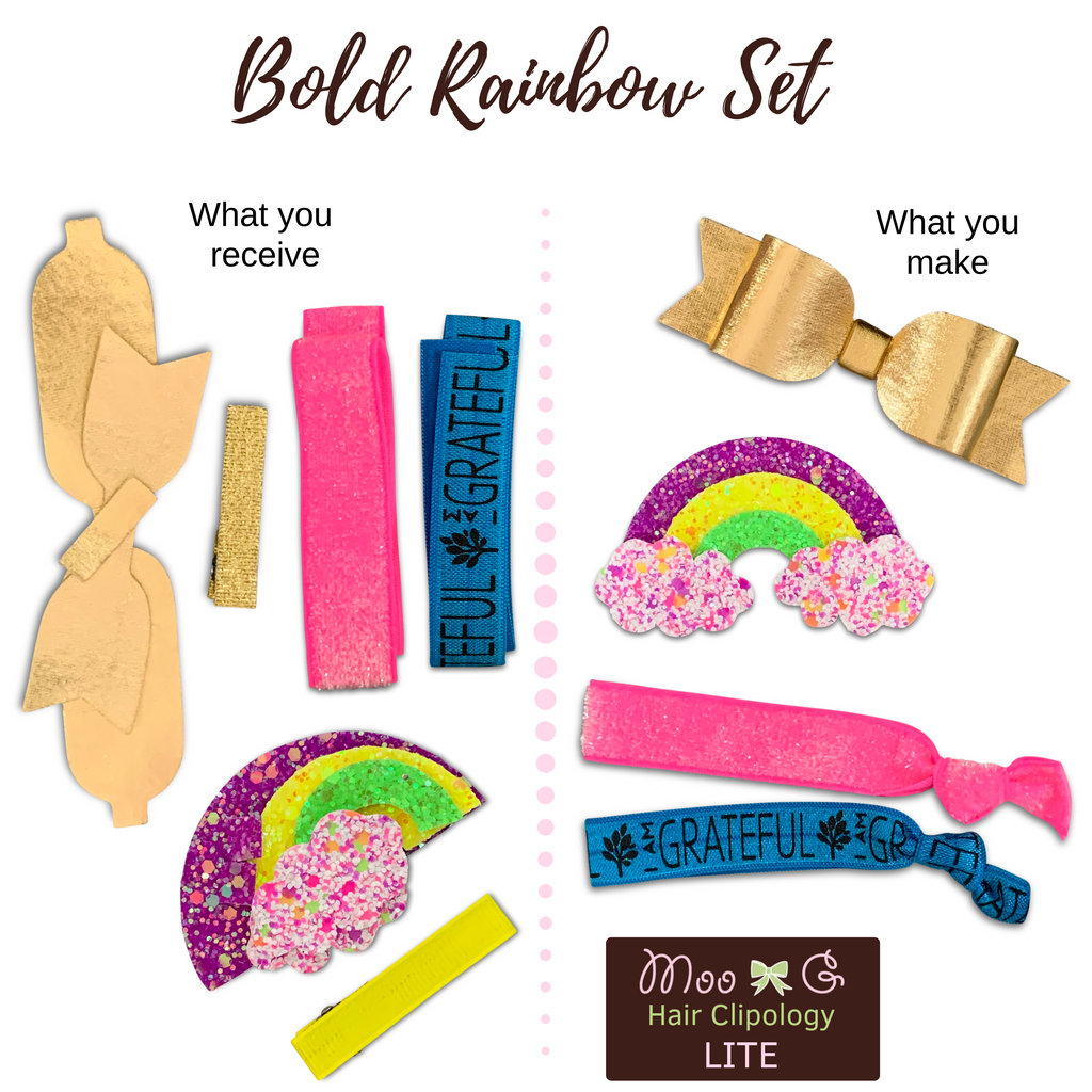 Bold Rainbow Set