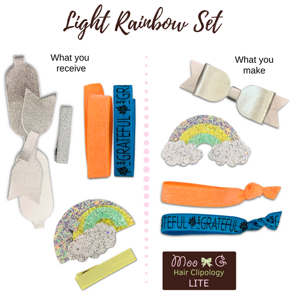 Light Rainbow Set