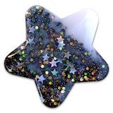 Mixed Hearts Moon & Stars Resin Hair Clips