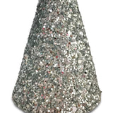 Chunky Glitter Mini Party Hats- no slip hair clip - party headband - baby gift-Moo G Clips