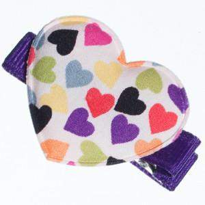 Multi Heart Print Hair Clips-Clearance no slip hair clips-Flower No slip hair clips-Animal no slip hair clips-Star no slip hair clip-heart no slip hair clips-butterfly no slip hair clips-Moo G Clips
