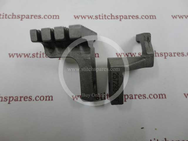 257246-16f feed dog pegasus flatbed interlock (flatlock) machine spare part