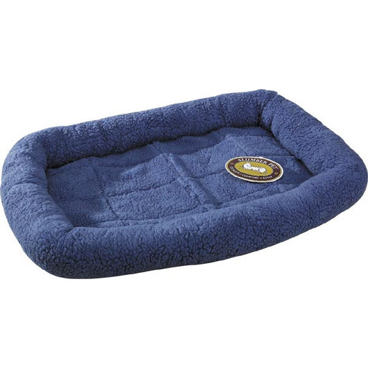 blue crate bed