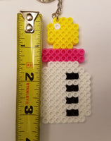Baby Shower party favors! - Set of 4 keychains or zipper pulls