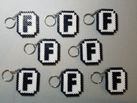 Popular Online gaming party favors - Set of 8 keychains or zipper pulls