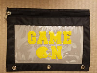 Game On - Football pencil pouch - Back to school!