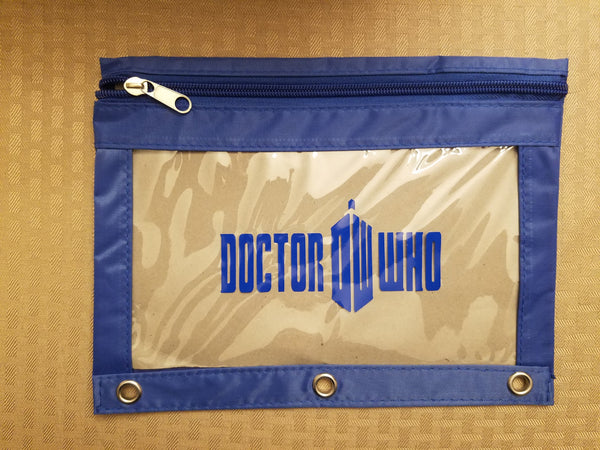 The Doctor pencil pouch - Back to school!