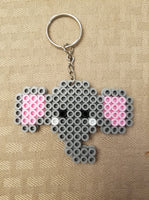 Dumbo party favors! Elephant party favors! Set of 8 keychains or zipper pulls