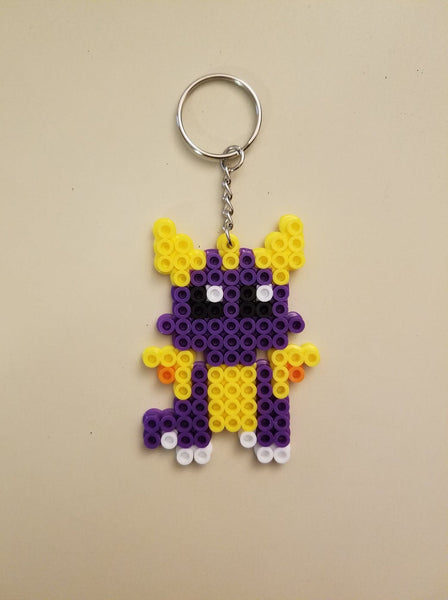 Spyro party favors - Set of 8 keychains or zipper pulls!