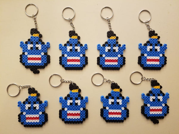 Genie party favors - Set of 8 keychains or zipper pulls