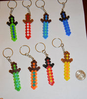Sword party favors - Boy colors