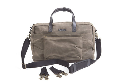 Foxtrot diaper bag city bag army front view