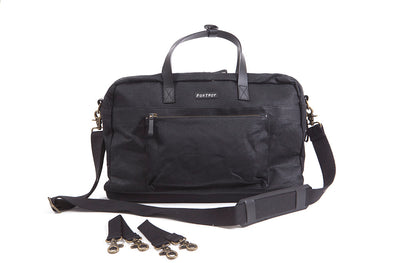 Foxtrot city bag diaper bag black front view
