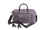 Foxtrot diaper bag city bag charcoal front view