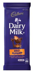 Cadbury Block Roast Almond