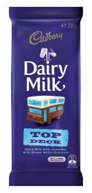 Cadbury Block Top Deck