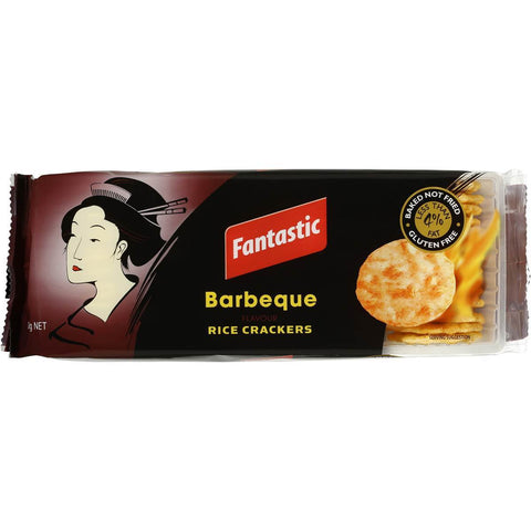 Fantastic BBQ Rice Crackers 100g