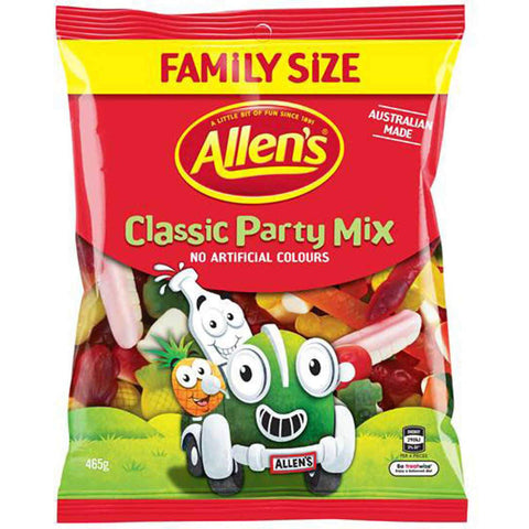 Allens Classic Party Mix Family Size 465g
