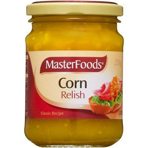 MasterFoods Corn Relish 250g x 6 (Bulk Value Pack)