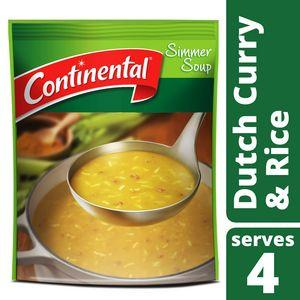 Continental: Dutch Curry & Rice Soup Mix (serves 4) - 70g