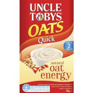Uncle Tobys Quick Oats Porridge 500g
