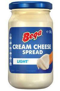 Bega Cream Cheese Spread LIGHT 250g