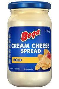 Bega Cream Cheese Spread BOLD CHEDDAR 250g