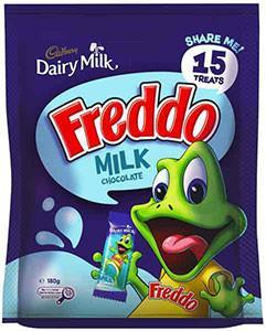 Cadbury Freddo Share Pack 180g X 10 (Bulk Value Box)
