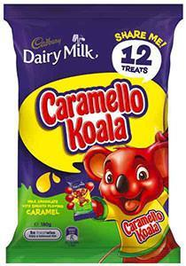 Cadbury Caramello Koala Share Pack 180g