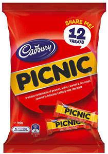 Cadbury Picnic Share Pack 180g