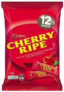Cadbury Cherry Ripe Share Pack 180g