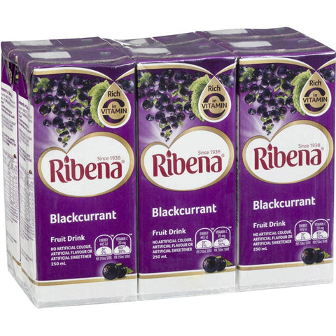 Ribena Blackcurrant 1.5L (6 x 250ml)