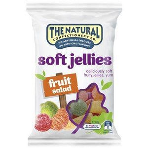 The Natural Confectionery Soft Jellies 240g