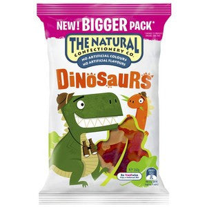 The Natural Confectionery Dinosaurs 260g