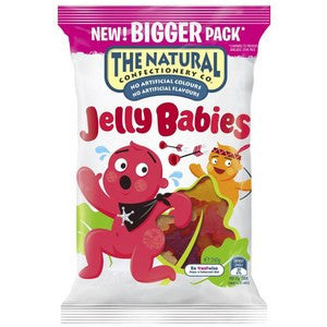 The Natural Confectionery Jelly Babies 260g