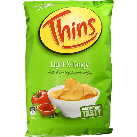 Smiths Chips Light & Tangy 175g