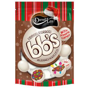 BB's Christmas Snowballs Popping Candy 200g
