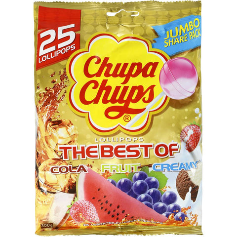 Chupa Chups Lollipops Best Of 25 pack