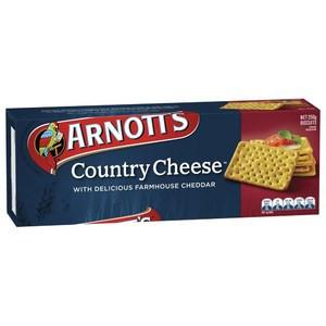 Arnotts Country Cheese Crackers