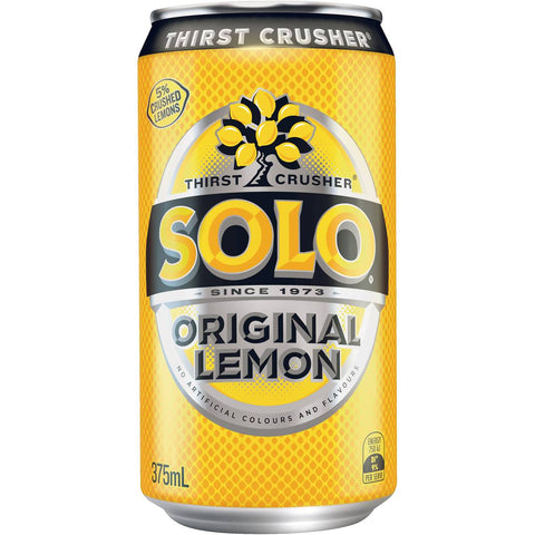 Schweppes Solo Lemon Can 375ml