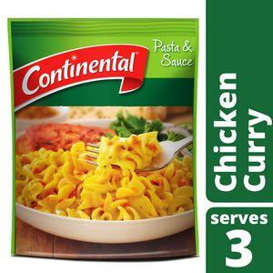 Continental: Chicken Curry Pasta & Sauce (Serves 3) - 90g
