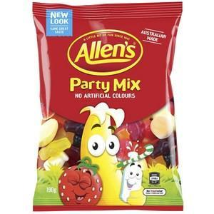 Allens Party Mix 190g x 9 (Bulk Value Box)