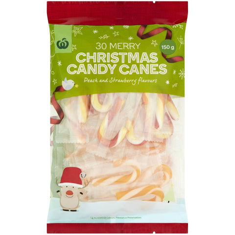 Candy Canes Assorted 30 pack